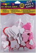 Valentine Hearts - Foam Stickers 90/Pkg