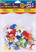 Mini Alphabet - Foam Stickers 135/Pkg