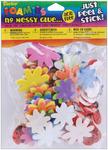 Flower & Ladybug - Foam Stickers