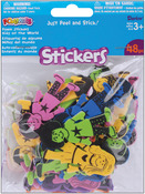 Kids Of The World - Foam Stickers 48/Pkg