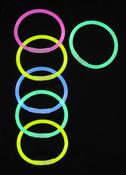 Glow Sticks Bracelet 6/Foil Bag