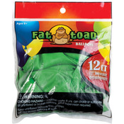 "Lime Green - Fat Toad Latex Balloons 12"" 12/Pkg"