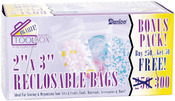 "2""X3"" - Reclosable Plastic Bags 300/Pkg"