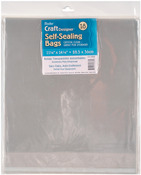 "11.25""X14.25"" - Self Sealing Bags 18/Pkg"