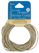Natural - Hemp Cord 20# 15yd/Pkg