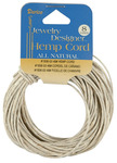 Natural - Hemp Cord 48# 8yd/Pkg