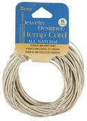 Natural - Hemp Cord 48# 8yd/Pkg