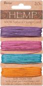 Pastels - Hemp Cord 20# 120'/Pkg