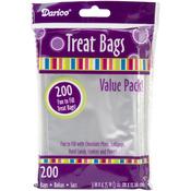 "Clear - Treat Bags 3""X4.75"" 200/Pkg"