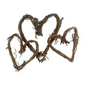 Assorted Hearts 15/Pkg - Grapevine Miniatures