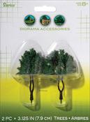 "3.125"" - Diorama Tree 2/Pkg"
