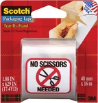 "1.88""X629"" - Scotch Tear-By-Hand Packaging Tape"