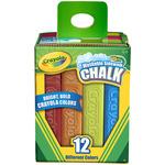 Assorted Colors - Crayola Sidewalk Chalk 12/Pkg
