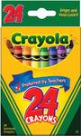 24/Pkg - Crayola Crayons