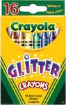 16/Pkg - Crayola Glitter Crayons