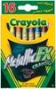 Crayola Metallic FX Crayons - 16/Pkg