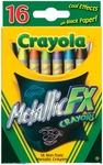 16/Pkg - Crayola Metallic FX Crayons