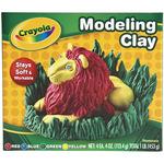 Crayola Modeling Clay 4oz 4/Pkg-
