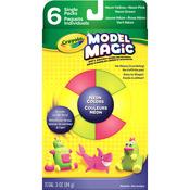 Neon Colors - Crayola Model Magic Set 6/Pkg