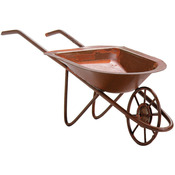 Rusted Tin Wheelbarrow - Timeless Miniatures