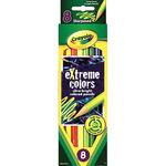 8/Pkg Long - Crayola Extreme Colored Pencils