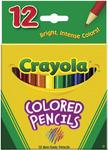 12/Pkg Short - Crayola Colored Pencils