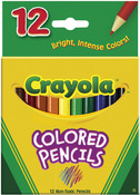 Crayola Colored Pencils - 12/Pkg Short