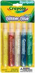 Super Sparkle 5/Pkg - Crayola Washable Glitter Glue Pens .35oz