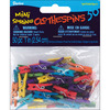 "Colored 1"" 50/Pkg - Mini Spring Clothespins"