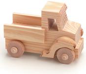 "Truck 4""X2.75"" - Wood Toy Kit"