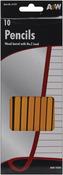 Yellow - Wood Pencils No.2 10/Pkg