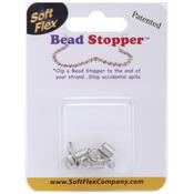 Metal - Mini Bead Stopper 4/Pkg
