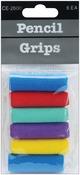 Assorted Colors - Foam Pencil Grips 6/Pkg
