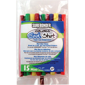 ".27""X4"" 15/Pkg - Super Low Temp Cool Shot Mini Glue Sticks"