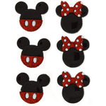Disney Mickey & Minnie - Dress It Up Licensed Embellishments