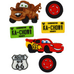 Disney Cars - Dress It Up Licensed Embellishments