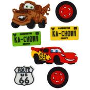 Disney Cars - Dress It Up Licensed Embellishments
