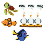 Dress It Up Licensed Embellishments - Finding Nemo