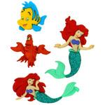 Dress It Up Licensed Embellishments - Disney The Little Mermaid