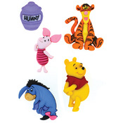 Dress It Up Licensed Embellishments - Disney Winnie The Pooh