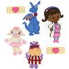 Dress It Up Licensed Embellishments - Disney Doc McStuffins