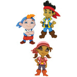 Dress It Up Licensed Embellishments - Disney Jake & The Neverland Pirates