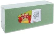"""Green - Dry Foam Block 2.625""""X3.5""""X7.875"""" 1/Pkg"""