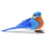 """Eastern Bluebird - Mushroom Bird 3.5"""" 1/Pkg"""