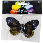 "Purple - Butterfly On Clip 4.75"" 1/Pkg"