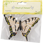 "Yellow Swallowtail - Butterfly On Clip 4.5"" 1/Pkg"