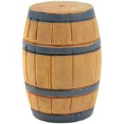 "Wood - Mini Garden Barrel 1.25""X2"" 1/Pkg"