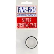 "Silver - Pine Car Derby Pinstripe .1875""X120"""