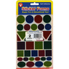 Foil Geometric Shapes 70/Pkg - Sticker Forms