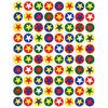 Stars & Circles 105/Pkg - Sticker Forms